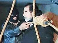 Imagen de la ejecución de Sadam Hussein
