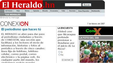 El Heraldo de Honduras: Conexión, el periodismo que haces tú
