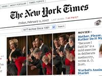 Captura de The New York Times