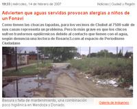 Noticia en Rosario3