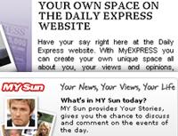 Comunidades de The Sun y Daily Express